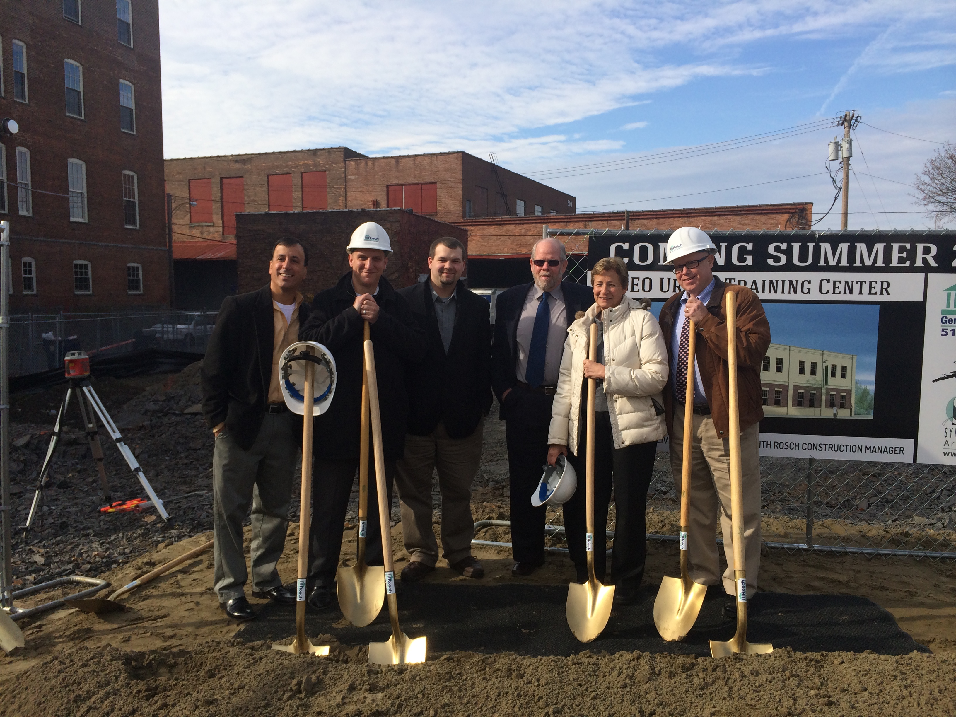 CEO Breaks Ground, Thanks Donors and Supporters